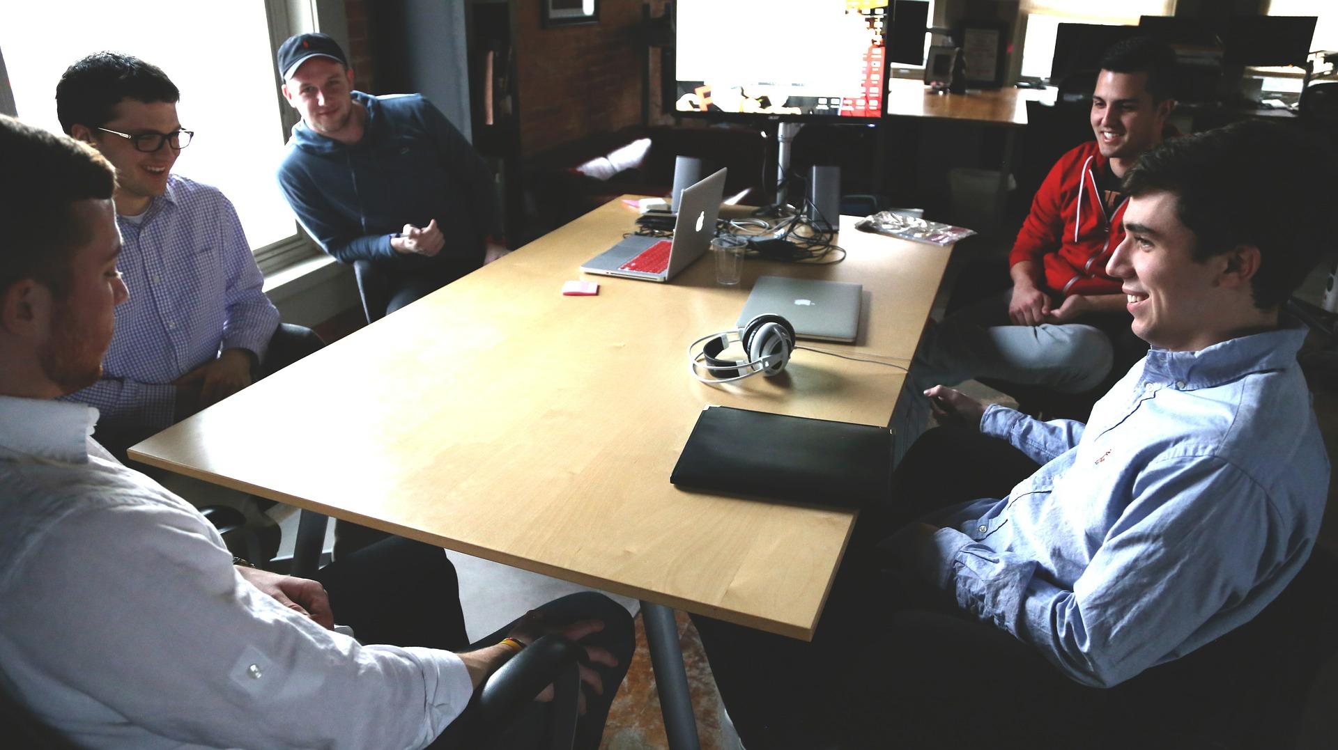 meeting ragazzi start-up